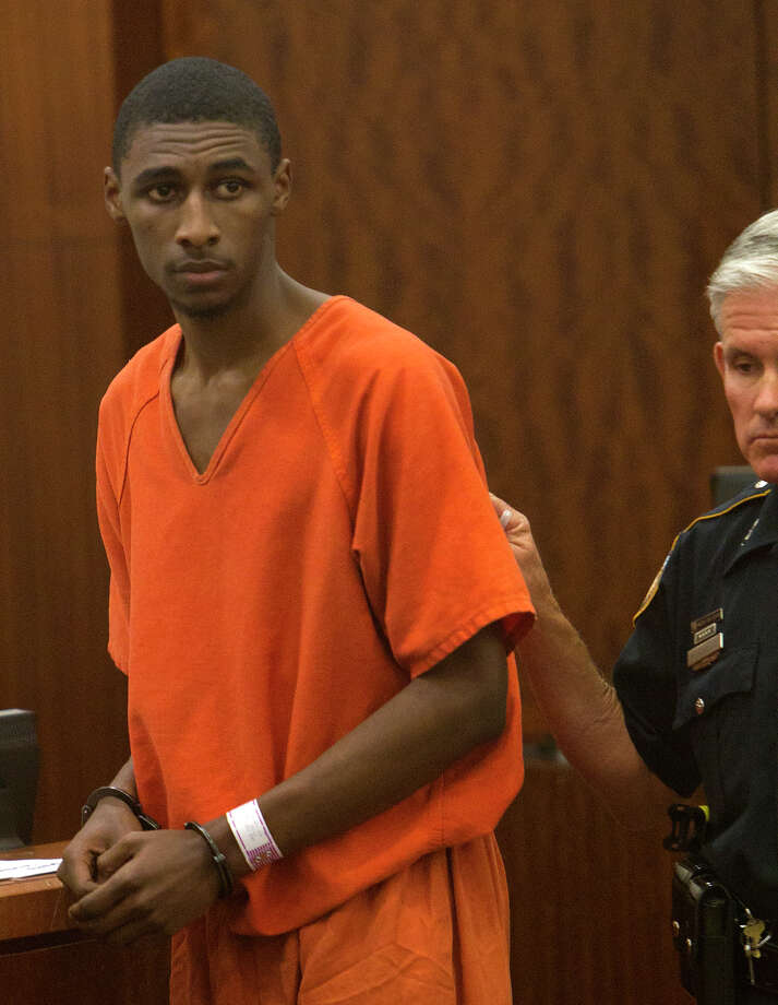 Deandre Devon Davis-Williams appears in the 338th State District Court, Thursday, March 21, 2013, in Houston. He is accused of raping an 11-year-old neighbor over a seven-month period resulting in her pregnancy. (Cody Duty / Houston Chronicle) Photo: Cody Duty, Staff / © 2013 Houston Chronicle