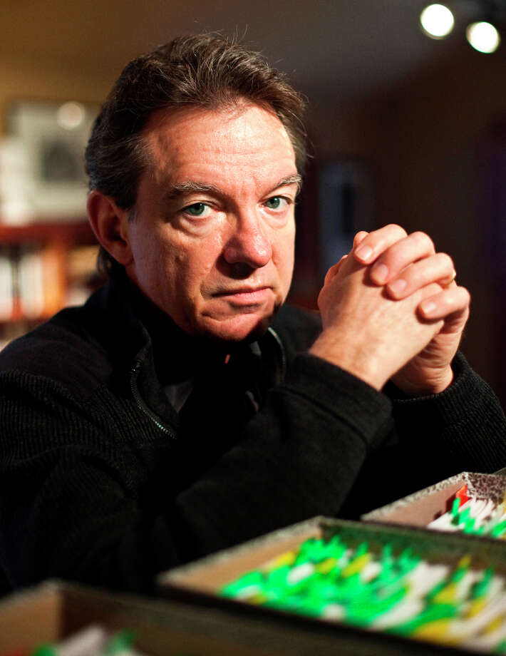"Lawrence Wright, ""Going Clear: Scientology, Hollywood and the Prison of Belief"" (2007 Pulitzer Prize winner for The Looming Tower) Photo: BEN SKLAR, New York Times / NYTNS"