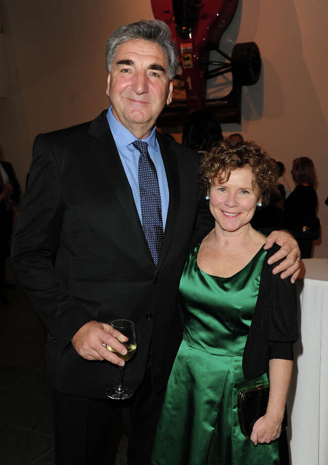 Jim Carter and Imelda Staunton attend an evening with the cast and producers of PBS Masterpiece series Downton Abbey hosted by Ralph Lauren & Graydon Carter on December 10, 2012 in New York City. Photo: Craig Barritt, Getty Images For Ralph Lauren / 2012 Getty Images