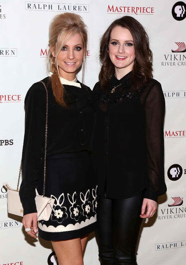 (L-R)  Joanne Froggatt and Sophie McShera  attend Downton Abbey Season 3 Photo Call at Essex House on December 12, 2012 in New York City. Photo: Astrid Stawiarz, Getty Images / 2012 Astrid Stawiarz