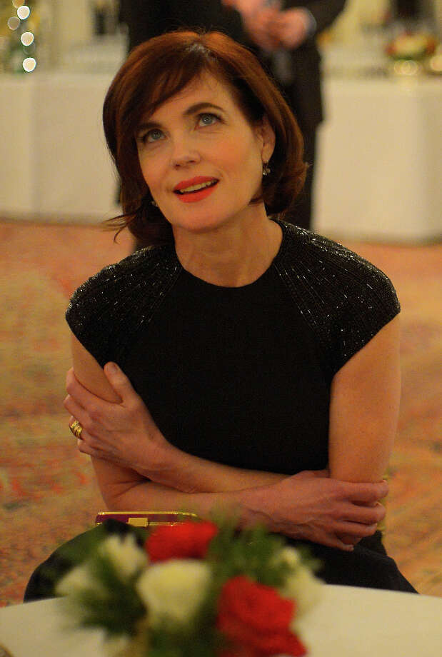 Actress Elizabeth McGovern was with a portion of the cast of Downton Abbey attending a reception in their honor for the upcoming 3rd season of their successful PBS TV show at the British Ambassador's Residence in Washington DC, December 14, 2012 .(Photo by John McDonnell/The Washington Post via Getty Images) Photo: The Washington Post, The Washington Post/Getty Images / 2012 The Washington Post