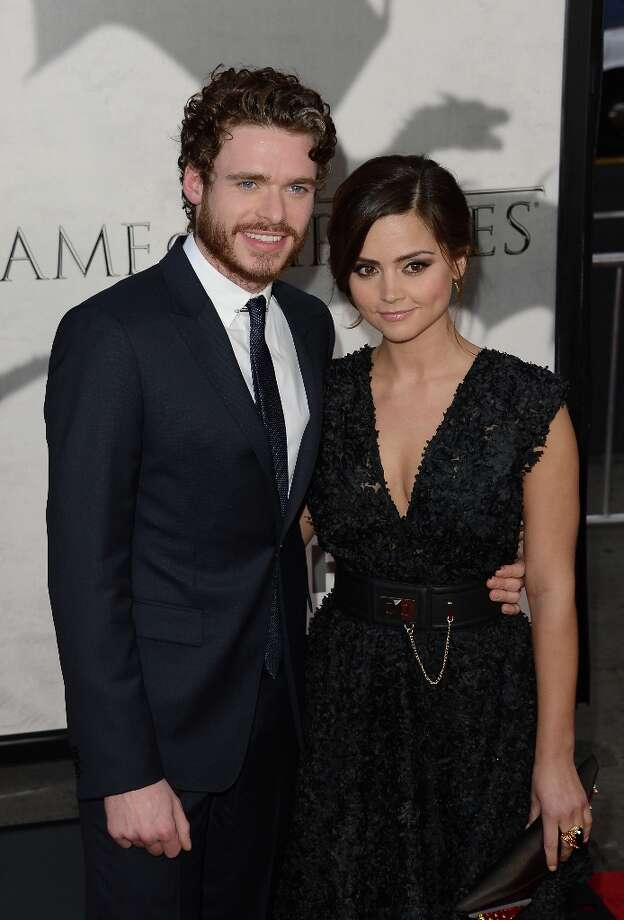 Actors Richard Madden and Jenna-Louise Coleman at the premiere of HBO's 'Game Of Thrones' Season 3 in Hollywood. Photo: Jason Merritt, Getty Images / 2013 Getty Images