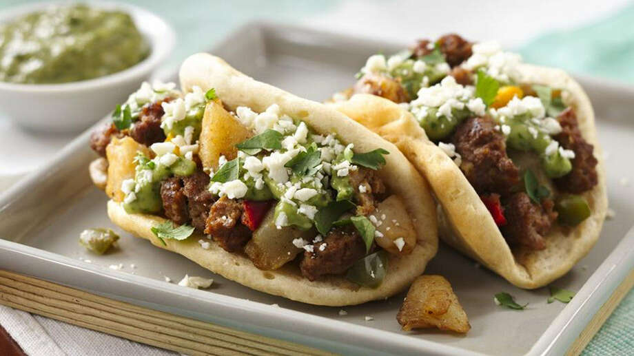 Melissa Stadler's Chorizo Potato Puffy Tacos recipe is one of 60 semifinalists competing for a spot in the November finals in the 46th Pillsbury Bake-Off. Photo: Courtesy Photo