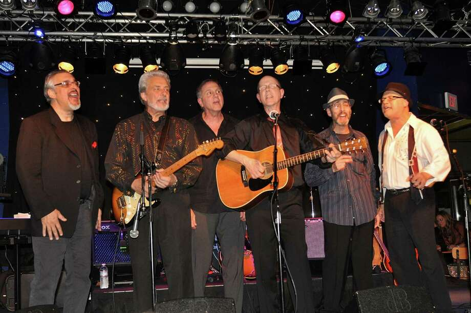 The Hit Men will perform at The Ridgefield Playhouse on Friday, March 22. Musicians in the group include include Lee Shapiro, Don Ciccone, Gerry Polci, Jim Ryan, Larry Gates and Russ Velazquez. Photo: Contributed Photo/Bobby Bank, WireImage / 2011 Bobby Bank
