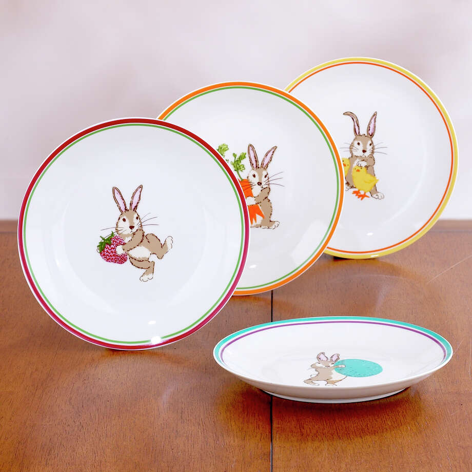 Bunny plates. $20, set of four, World Market.