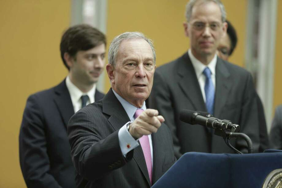 You might be a puritan if ... : New York Mayor Michael Bloomberg has ideas of how his constituents should look, live, behave. Photo: New York Times