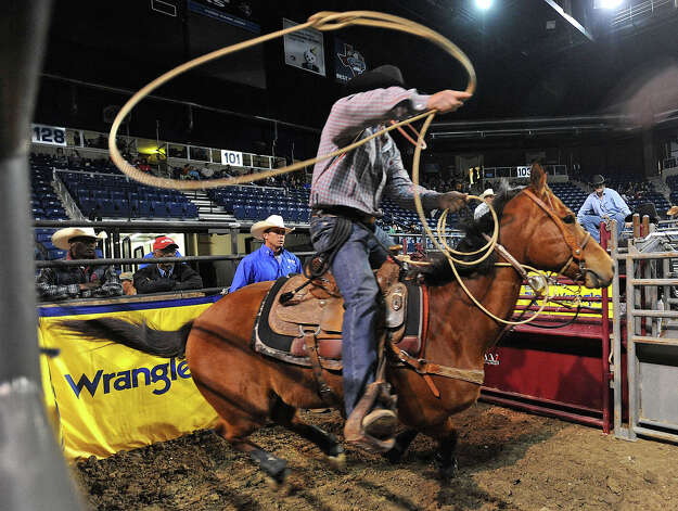 The YMBL Harold Engstrom Memorial Special Kids Rodeo at Ford Park on Thursday. The YMBL hosts the event allowing hundreds of mental and/or physically challenged students to attend.  Photo taken Thursday, March 21, 2013 Guiseppe Barranco/The Enterprise Photo: Guiseppe Barranco, STAFF PHOTOGRAPHER / The Beaumont Enterprise