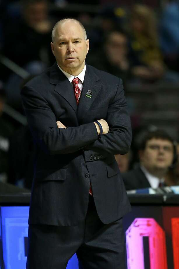 """Randy Bennett didn't """"promote an atmosphere for compliance,"""" the NCAA says. Photo: Jonathan Daniel, Getty Images"""