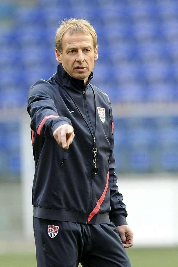 Jurgen Klinsmann might be on the hot seat if the U.S. loses to Costa Rica. Photo: Tanopress, Associated Press