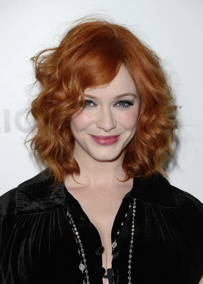 Actress Christina Hendricks arrives at the Premiere of AMC's 'Mad Men' Season 6 at DGA Theater on March 20, 2013 in Los Angeles, California. Photo: Jason Merritt, Getty Images / 2013 Getty Images