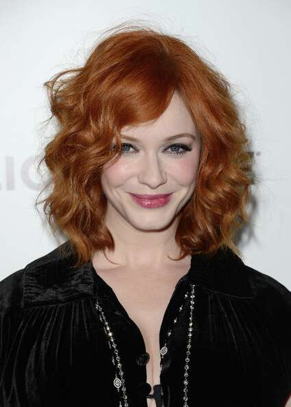 Actress Christina Hendricks arrives at the Premiere of AMC's 'Mad Men' Season 6 at DGA Theater on Ma
