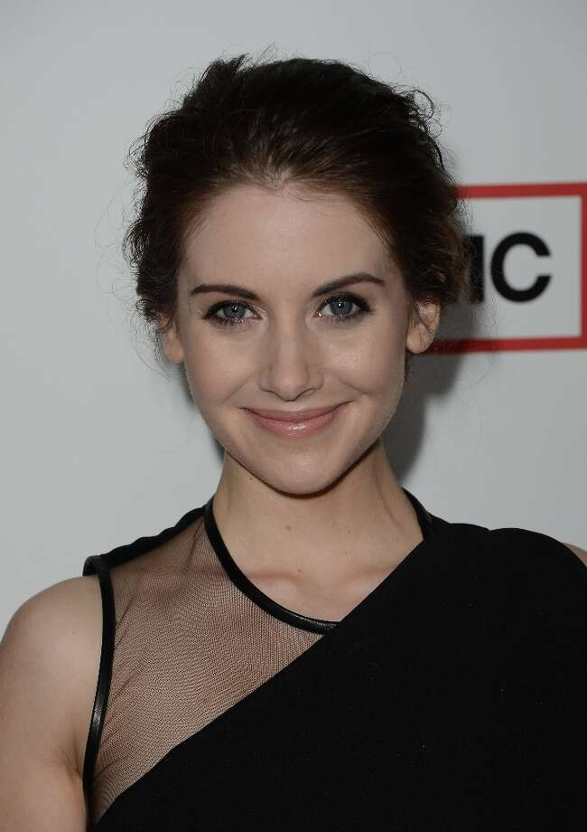 Actress Alison Brie arrives at the Premiere of AMC's 'Mad Men' Season 6 at DGA Theater on March 20, 2013 in Los Angeles, California. Photo: Jason Merritt, Getty Images / 2013 Getty Images