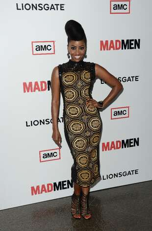 Actress Teyonah Parris arrives at the Premiere of AMC's 'Mad Men' Season 6 at DGA Theater on March 20, 2013 in Los Angeles, California. Photo: Jason Merritt, Getty Images / 2013 Getty Images