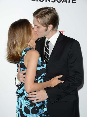 Actors Aaron Staton and Connie Fletcher arrive at the Premiere of AMC's 'Mad Men' Season 6 at DGA Theater on March 20, 2013 in Los Angeles, California. Photo: Jason Merritt, Getty Images / 2013 Getty Images