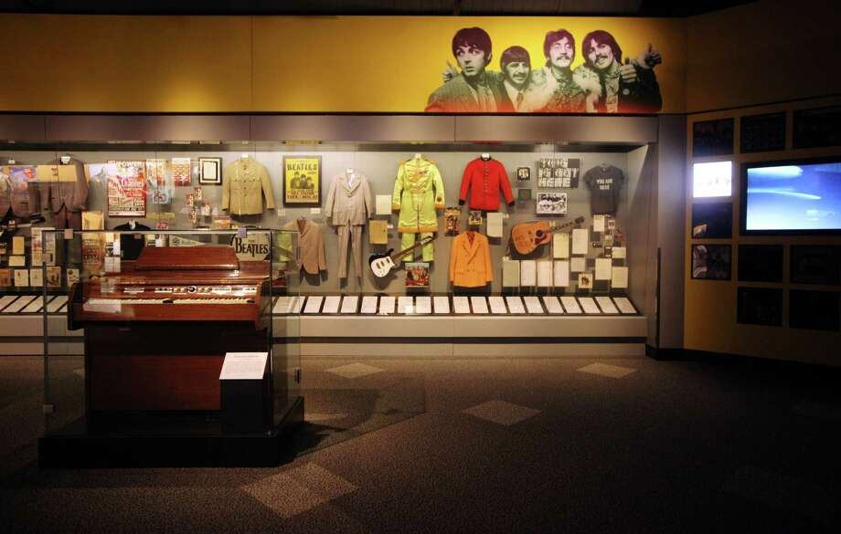 c. Copyright The Rock and Roll Hall of Fame and Museum The Beatles exhibit