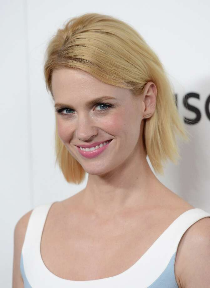 Actress January Jones arrives at the Premiere of AMC's 'Mad Men' Season 6 at DGA Theater on March 20, 2013 in Los Angeles, California. Photo: Jason Merritt, Getty Images / 2013 Getty Images
