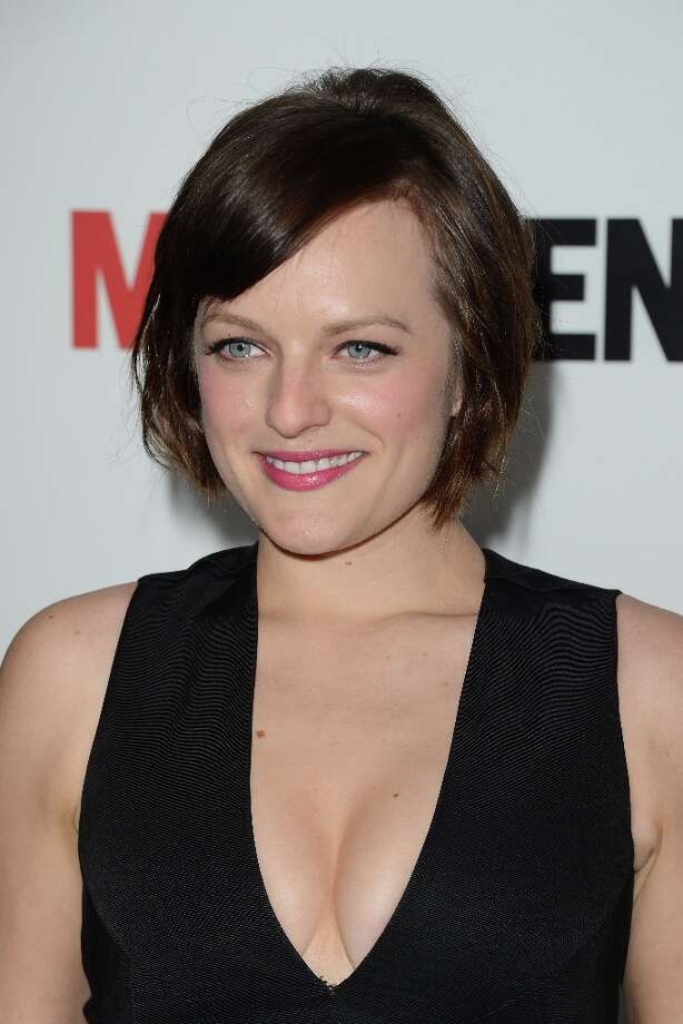 Actress Elisabeth Moss arrives at the Premiere of AMC's 'Mad Men' Season 6 at DGA Theater on March 20, 2013 in Los Angeles, California. Photo: Jason Merritt, Getty Images / 2013 Getty Images