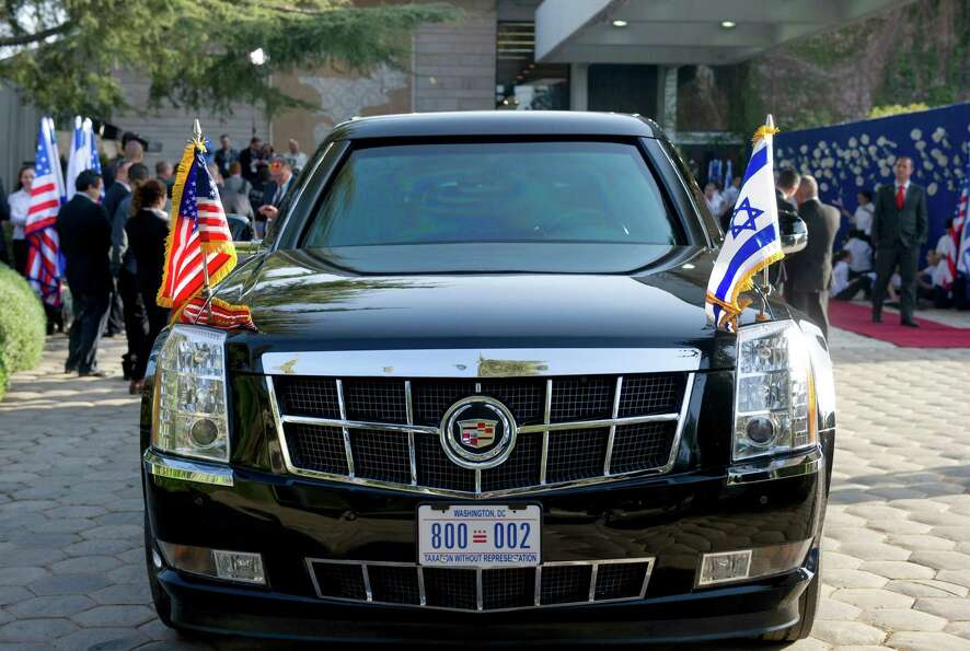 The news that President Obama's limousine broke down in Israel on Thursday added a little levity to