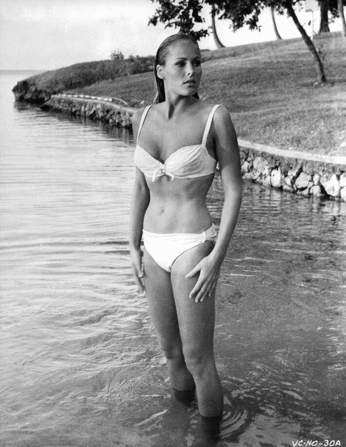 Ursula Andress as Honey Ryder in ''Dr. No,'' in 1962.