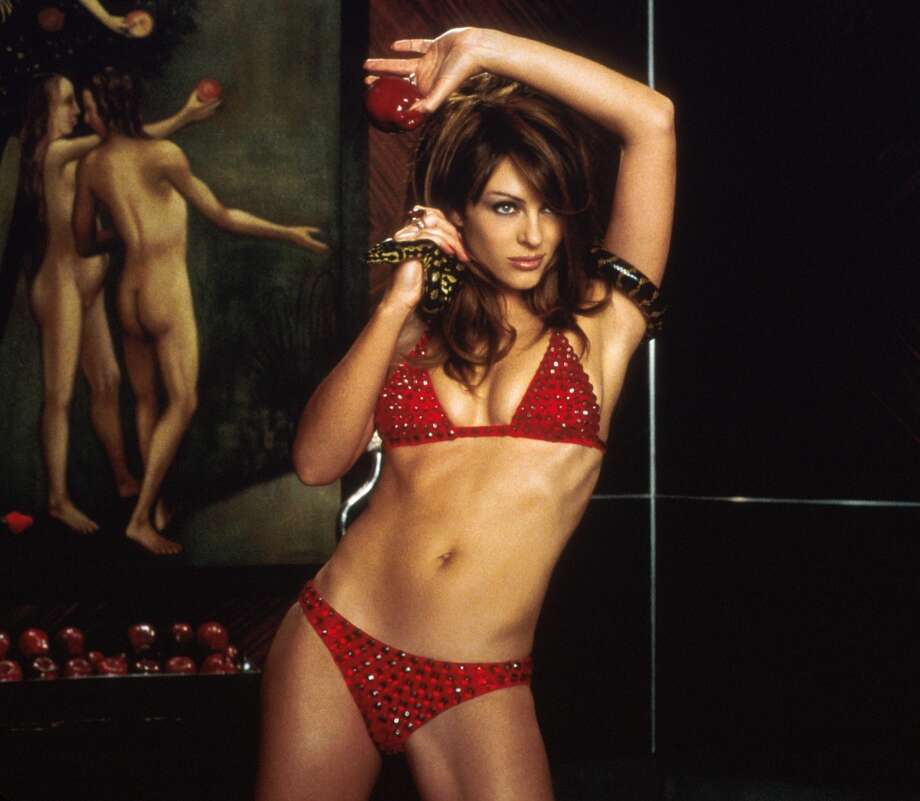 Elizabeth Hurley, as ''the Devil,'' turns the bikini into an item of evil in the 2000 comedy ''Bedazzled.''