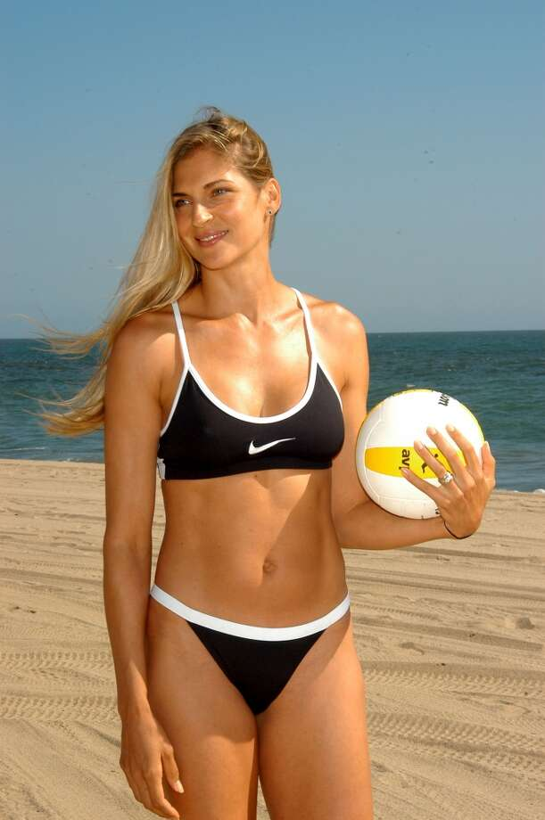 Volleyball player and actress Gabrielle Reece looked at home in this outfit in the 2004 movie ''Cloud 9.''