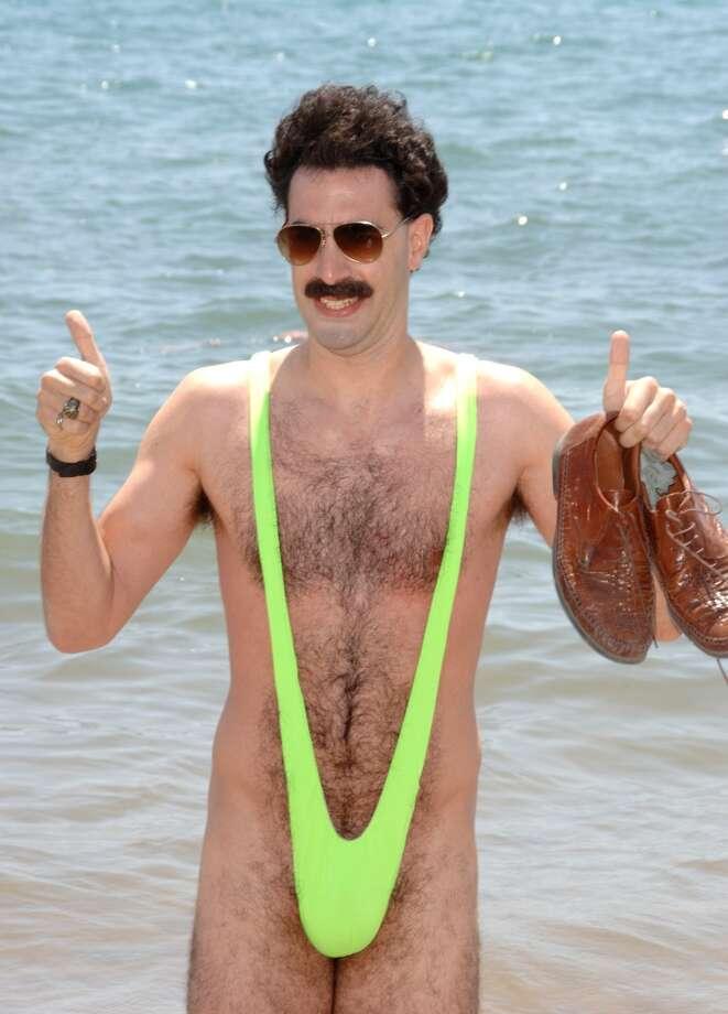 A close relative of the bikini - the ''tankini,'' popularized in ''Borat,'' with Sacha Baron Cohen. (2006).
