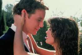 Phoebe Cates, in her red bikini,  was the sex symbol for teenage boys in the '80s, from the movie ''Fast Times at Ridgemont High,''  with Judge Reinhold.