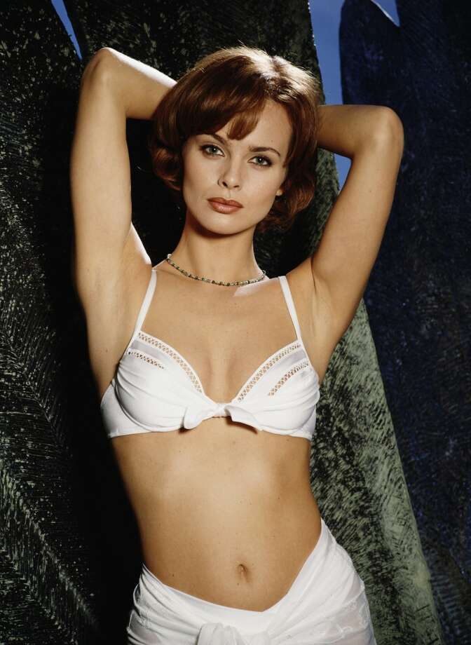 More Bond girls in bikinis, this time with Izabella Scorupco as ''Natalya Simonova'' in 1995's ''GoldenEye.''