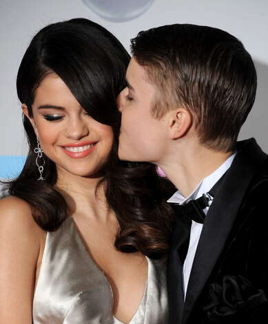 Selena Gomez and Justin Bieber in 2011. Photo: AFP, AFP/Getty Images / 2011 AFP