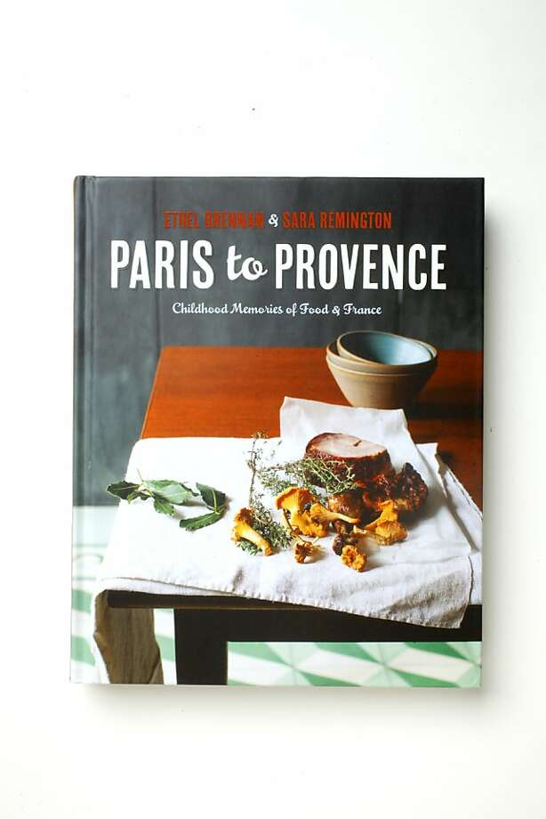 """""""Paris to Provence"""" book as seen in San Francisco, California on Wednesday, March 20, 2013. Photo: Craig Lee, Special To The Chronicle"""