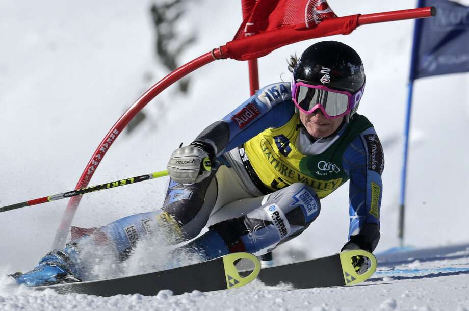Alpine SkiingCommonly referred to as downhill skiing, alpine skiing is sliding downhill with fixed-heel bindings rather than free-heel bindings. This is the kind of skiing that most people do when they visit ski resorts.  Photo: Charles Krupa, Associated Press / AP