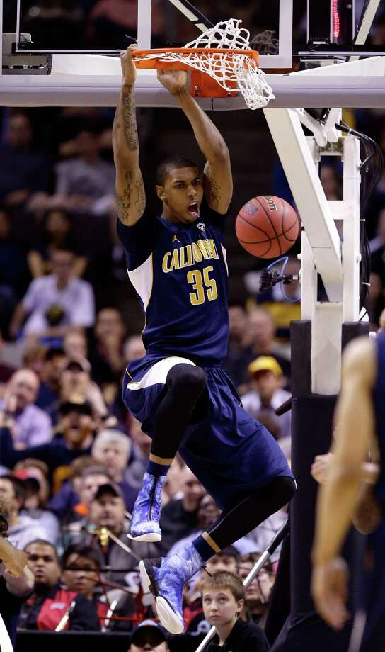 Richard Solomon #35 of the California Golden Bears dunks the ball against UNLV Rebels in the first half. Photo: Ezra Shaw, Getty Images / 2013 Getty Images