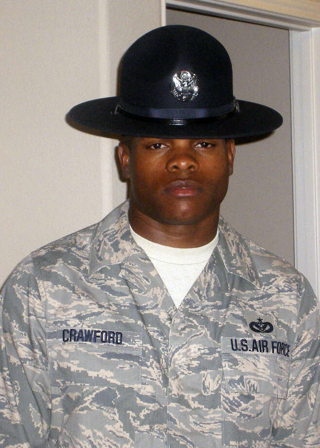 Master Sgt. Jamey Crawford said he'd made bad choices but wanted to stay in the Air Force.