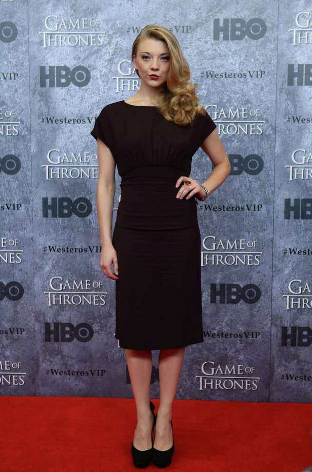 Natalie Dormer, who plays Margaery Tyrell, walks the red carpet during the Seattle premiere of season three of HBO's Game of Thrones at Seattle's Cinerama. Cast members attended a VIP screening at Cinerama and an after party at the Experience Music Project on Thursday, March 21, 2013. Photo: JOSHUA TRUJILLO / SEATTLEPI.COM