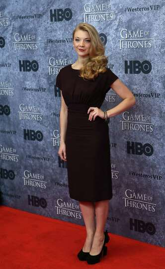 Natalie Dormer  who plays Margaery Tyrell  walks the red carpet during    Natalie Dormer Margaery Tyrell Season 3