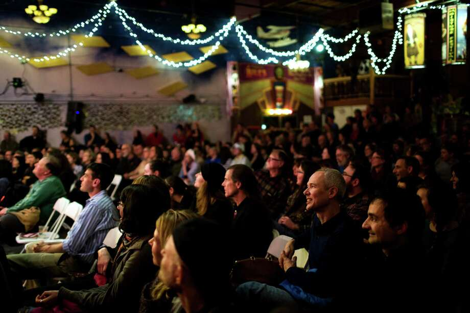 A full house attended the opening night of the Moisture Festival. Photo: JORDAN STEAD / SEATTLEPI.COM