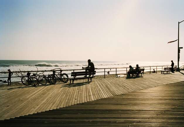 No. 15: Queens County, New York.  This county, which is home to Rockaway Beach, had the 15th highest number of people leaving Fairfield County to make their new home there, with an average of 406 people a year between 2006 and 2010, according to the U.S. Census Bureau. People on boardwalk, Rockaway Beach, Queens, New York, USA
