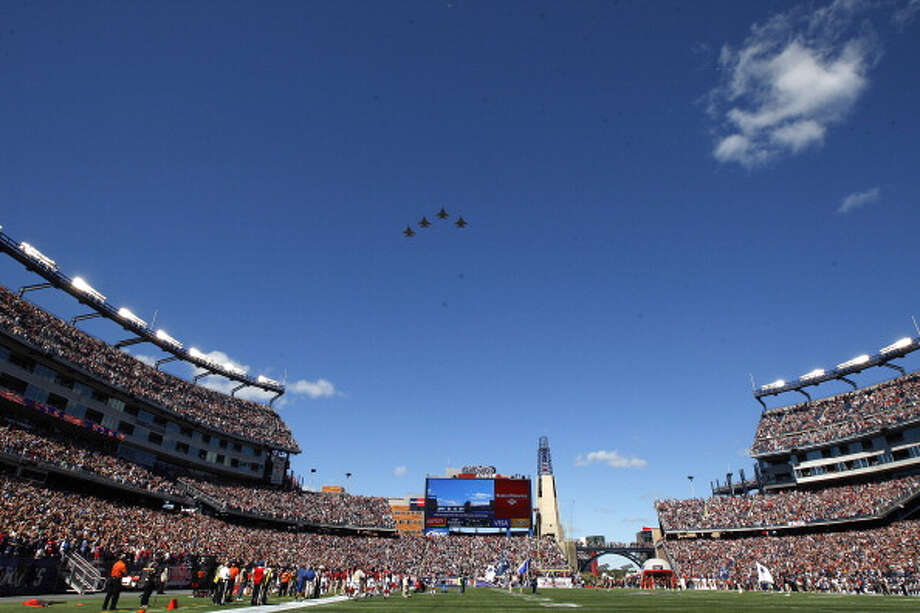 Gillette Stadium – New England Patriots – $8.5 million per year.
