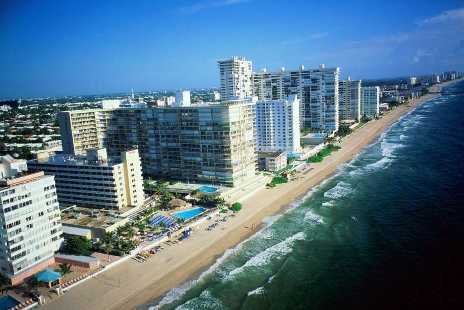 No. 12: Broward County, Florida. This county, which is home to Fort Lauderdale, had the 12th highest number of people leaving Fairfield County to make their new home there, with an average of 505 people a year between 2006 and 2010, according to the U.S. Census Bureau. USA, Florida, Fort Lauderdale, beachfront hotels