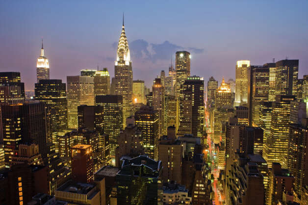 No. 4: New York County, New York.  This county, which is home to Manhattan, had the fourth highest number of people leaving Fairfield County to make their new home there, with an average of 1,597 people a year between 2006 and 2010, according to the U.S. Census Bureau. New York skyline at night