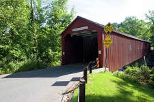No. 3: Litchfield County, Connecticut.   This county, which is home to Cornwall, had the third highest number of people leaving Fairfield County to make their new home there, with an average of 1,651 people a year between 2006 and 2010, according to the U.S. Census Bureau.    West Cornwall covered bridge, Connecticut