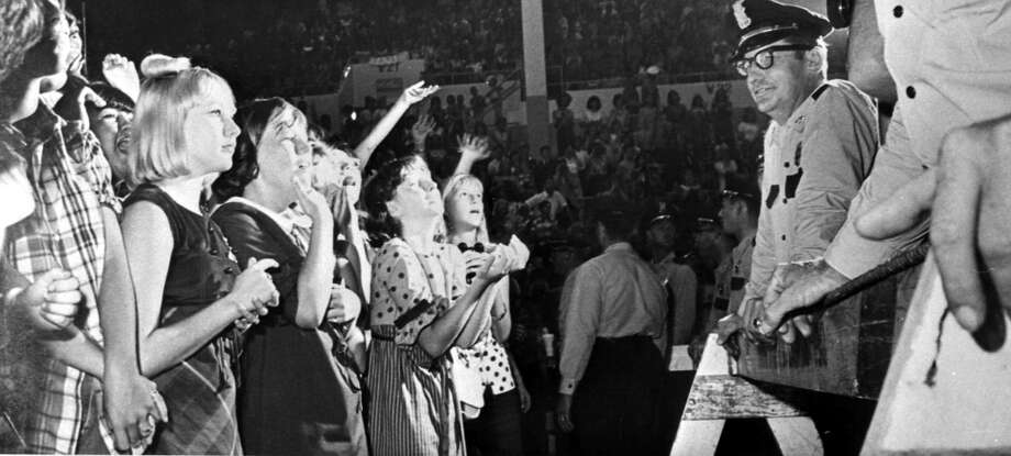 Take a look at the night the Beatles came to the Bayou City.  Photo: Chronicle File