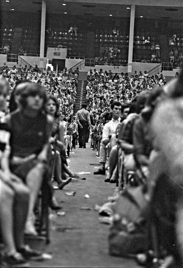 Sam Houston Coliseum, Houston, Texas, Aug. 19, 1965. Photo: Chronicle File