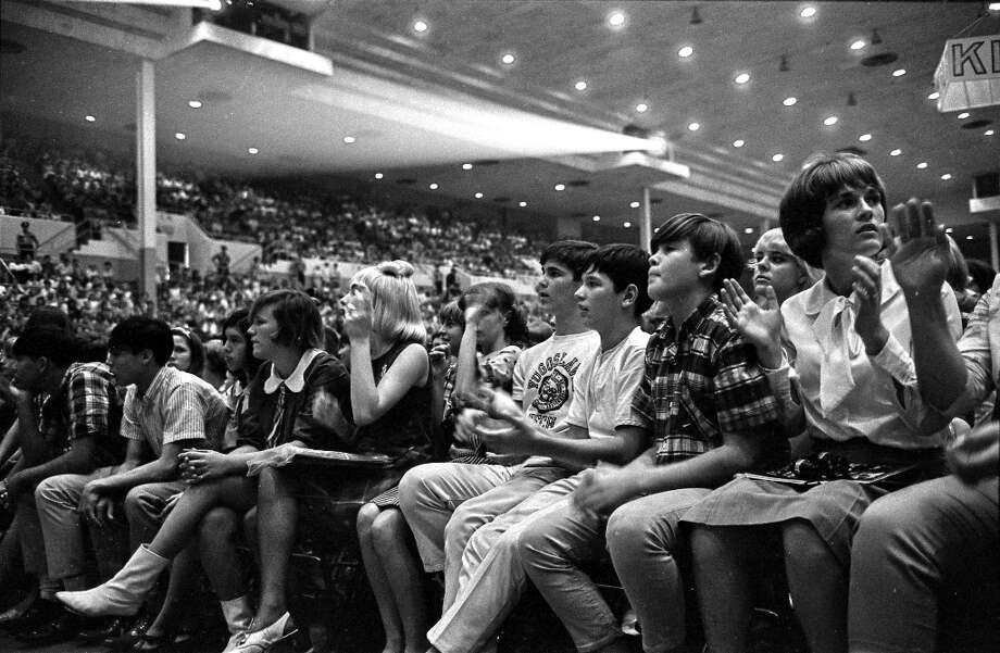 Sam Houston Coliseum, Houston, Texas, Aug. 19, 1965. Photo: Chronicle File