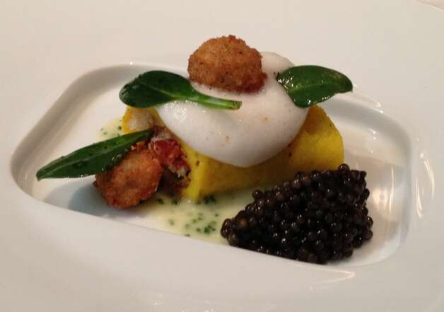 Hangtown Fry with caviar at The French Laundry