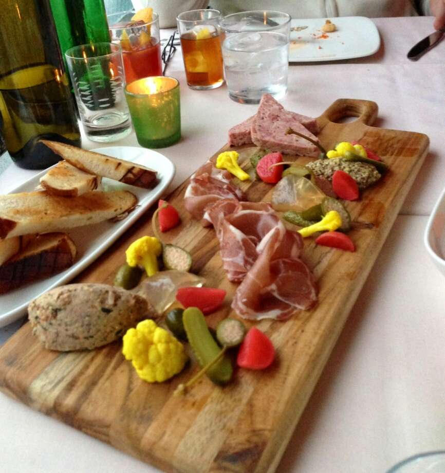 Charcuterie platter at Trick Dog