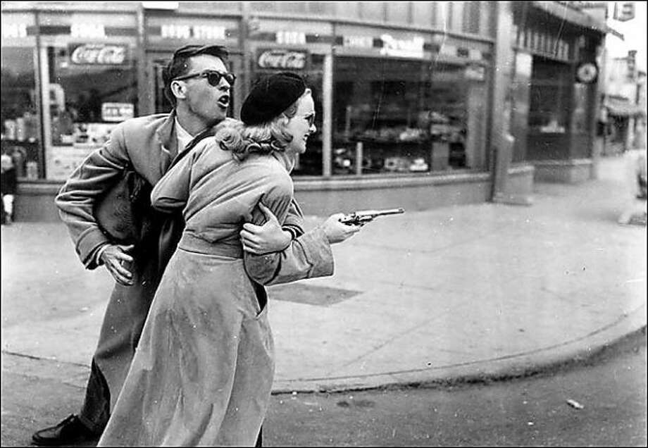 GUN CRAZY -- odd film noir starring Peggy Cummins.