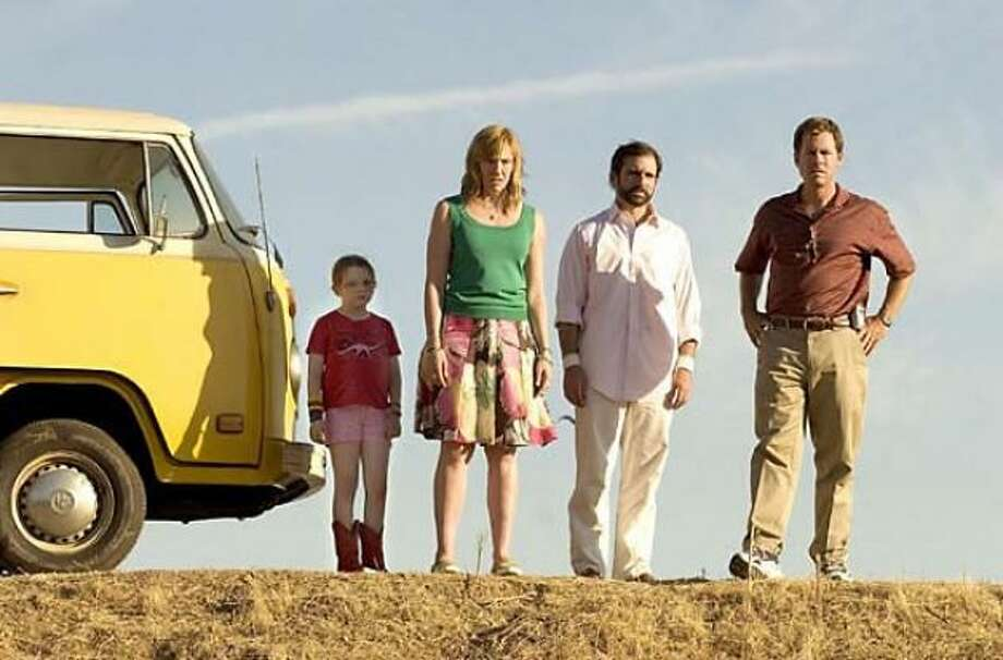 LITTLE MISS SUNSHINE -- a family road trip.