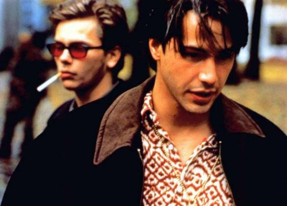 MY OWN PRIVATE IDAHO -- with River Phoenix and Keanu Reeves.