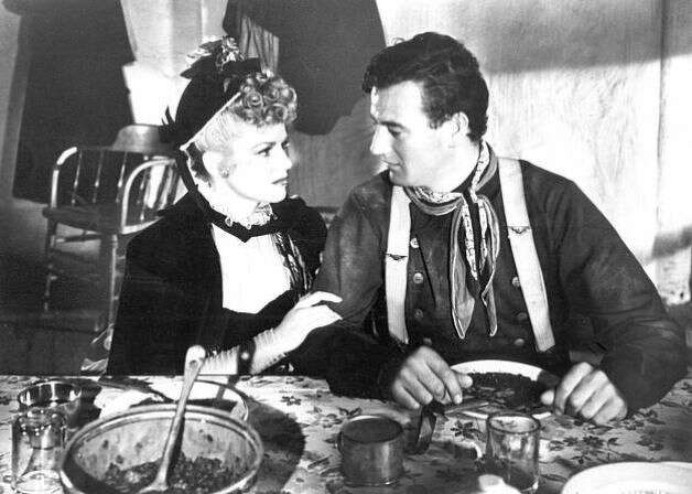 STAGECOACH -- 1939 film starring John Wayne and Claire Trevor, directed by John Ford.
